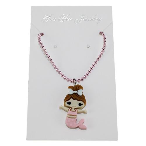 36-3 ожерелье детское, русалка