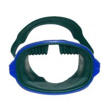 Маска для плавания Лагуна зеленая