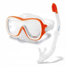 55647 Intex Набор: маска+трубка 8+ 6шт/кор