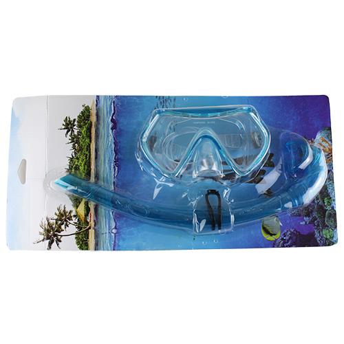 1526S8X Набор для плавания маска+трубка