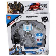 A783-H21180 Робот-маш. с оруж. Полиция, 2 цв./ 112 шт.