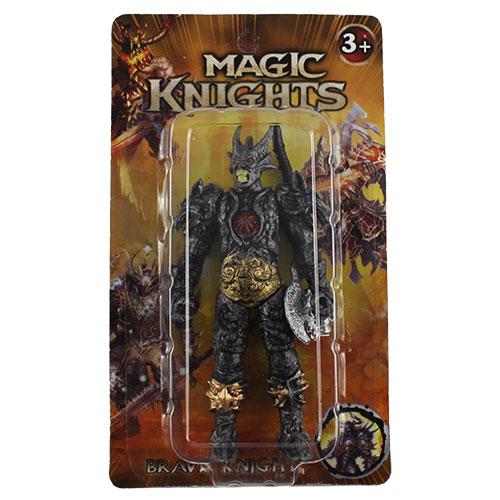 1604L365  Фиг. Magic Knights, 2 вида, на карт. / 900 шт.