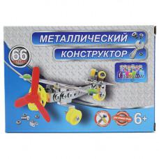 8811 Констр. мет. Самолет, 66 дет. / 192 шт.