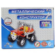 898Н-1 Констр. мет. Джип, 119 дет. / 72 шт.