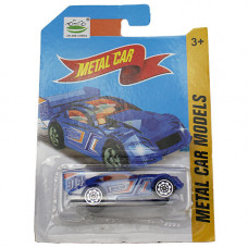 B1402240 Маш. мет. Metal car, на карт. / 720 шт.