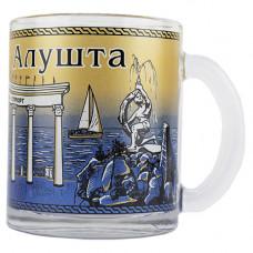 023416 МБ  Алушта Аю - Даг чай 300 синий 24шт/уп