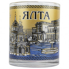 023916 МБ  Ялта фонтан чай 300 синий 24шт/уп