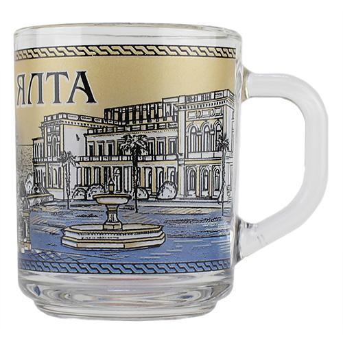 013916 МБ  Ялта фонтан чай 200 синий  20шт\уп