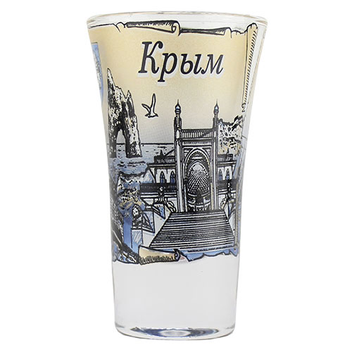 093116  МБ Набор 2 стопок Тюльпан Крым синий