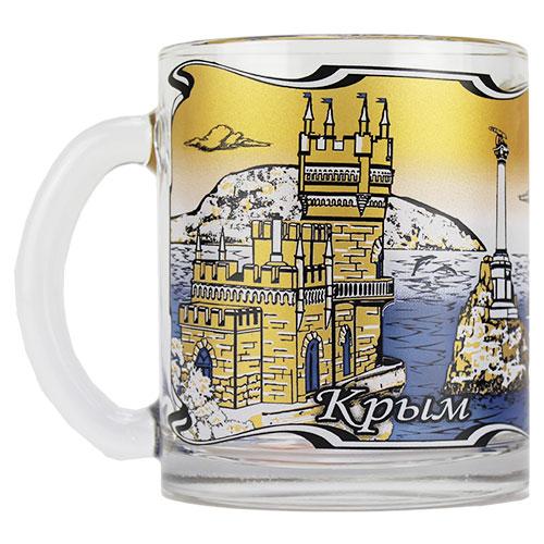 1208 Крым  чай 320 ДСГ синий, 24 шт/уп