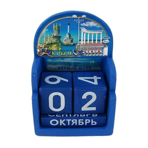 CD 102-2 Крым 2 календарь из полирезины