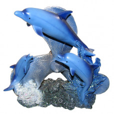 T24-6-050 Два дельфина на винте 27см