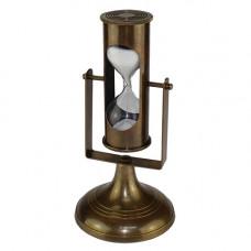 HE-15101 Песочные часы из латуни, высота 18 см.