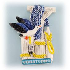 S97-052 Евпатория магнит чайки
