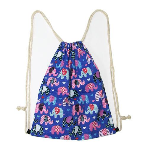 B353 Сумка-рюкзак текстиль 40х32см