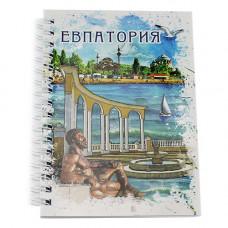 NB006  Блокнот Евпатория 70 л с бумажной обложкой