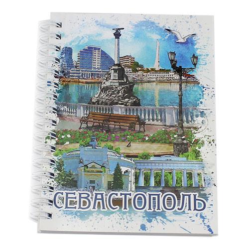 NB008Блокнот Севастополь 70 л с бумажной обложкой