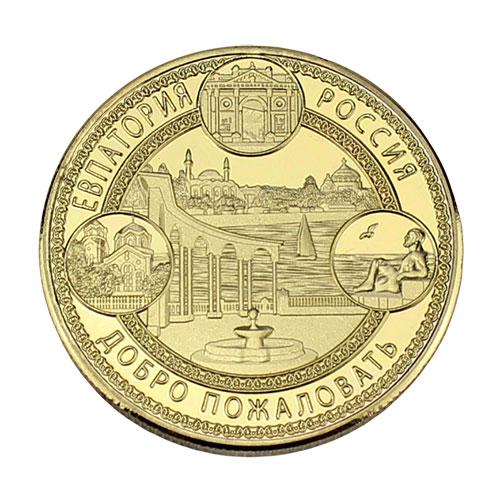 JCOIN-5 Монетка Евпатория золотая