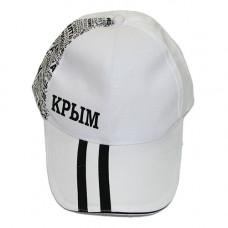 CAP02 Кепка-бейсболка мужская,КРЫМ (черная)