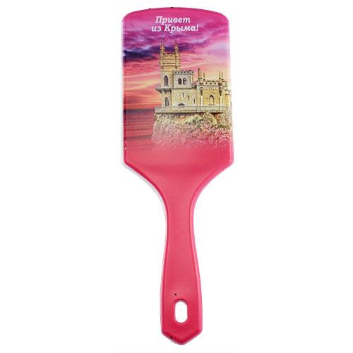8586-1 Щетка для волос Ласточкино роз